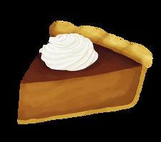365 day 40 Pumpkin Pie by Korikian