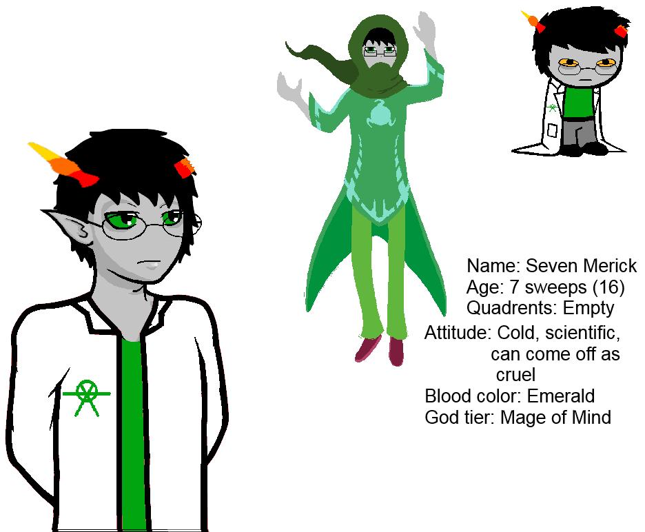 Seven (troll) by ThanaPrefay on DeviantArt