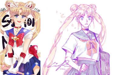 Sailor Moon by Mangaszek