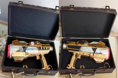 Steampunk Gun by bandeau