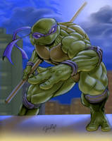 DONATELLO in color by gazap