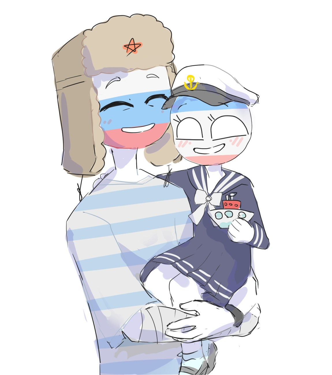 Russia and Republic of Crimea [CountryHumans] by LuluDig ...