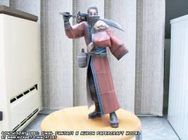 Papercraft Final Fantasy X Auron by ninjatoespapercraft