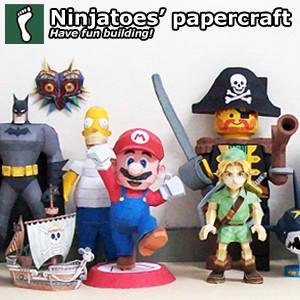 ninjatoespapercraft's Profile Picture