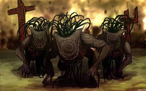 zelda tp: shadow beasts by mizz-ninja