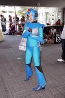 megaman x cosplay 2 by mizz-ninja