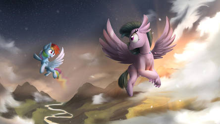Hippogriff Flying course by Blackligerth