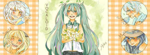 Vocaloid Summer by Touzaiko