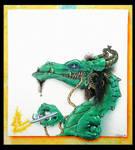 Airbrush dragon by nachoriesco