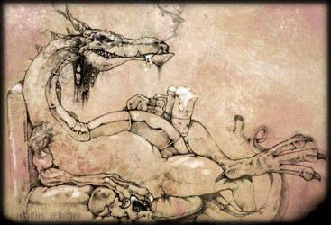 Beer Dragon by nachoriesco