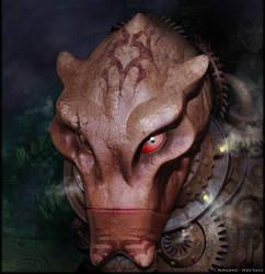 Alien Warrior by nachoriesco