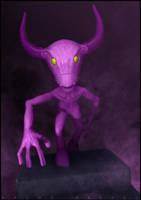 PurpleDemon by nachoriesco
