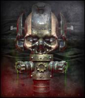 Toxic Skull by nachoriesco