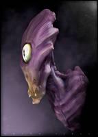 Alien Bust by nachoriesco