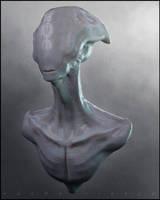 Alienbust by nachoriesco