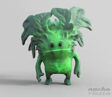 Leaf Goblin by nachoriesco