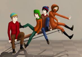 South Park by Alacz