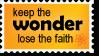 Keep The Wonder by AtheistsClub
