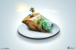 Little Slice of Paradise by Nautilus-D
