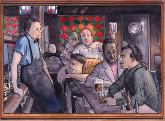 Moe's Tavern by Soposoposopo