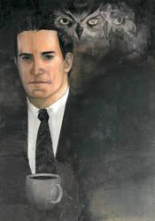 Agent Dale Cooper by Soposoposopo