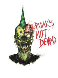 Punk's not Dead. by Frankienstein