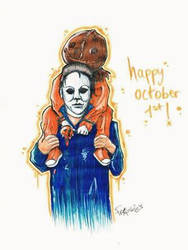 Michael and Sam - happy october 1st! by Frankienstein