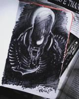 Alien by Frankienstein