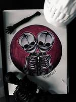 14. skeleton by Frankienstein