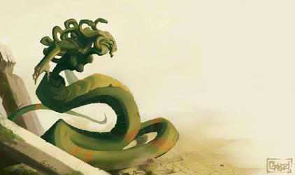 Medusa by grimzzi