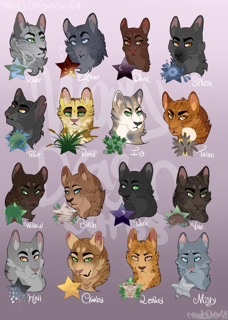 Warrior cats 2019 All books