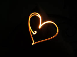 Light Painting - Heart by angstfool11