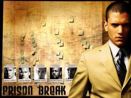 Michael Scofield - Prison Brea by XxPaNiCxX