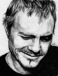 Heath Ledger by HippieInHell
