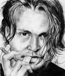 Johnny Depp by HippieInHell