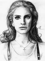 Lana Del Rey. by HippieInHell