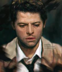 Castiel - Supernatural by vtas