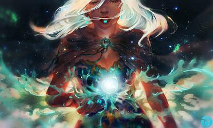 Aqualumina: my tears become stars by vtas