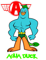 Aquaduck by Cartoonray