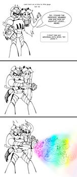 [Comics] Inktober 27 by Mati0la