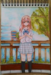 Koe no Katachi - Shouko Nishimiya by cachaTM