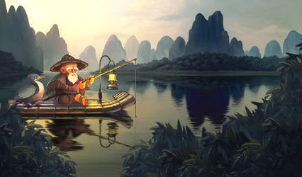 fisherman by le-coco