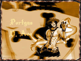 Portgas D. Ace by semachan