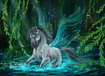 Pegasus Water Song by SilverFlight