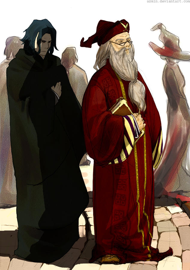HP: Snape and Dumbledore by azmin