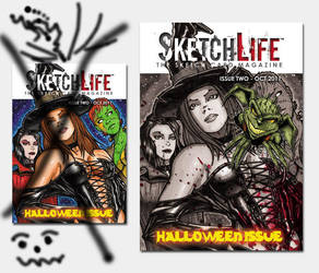SketchLife Issue 2 New Cover by OfficialHarHar