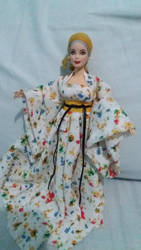Hanfu Barbie or Guzhuang dress by seawaterwitch