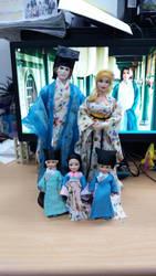 hanfu Barbie hanfu ken hanfu chelsea and darrin by seawaterwitch
