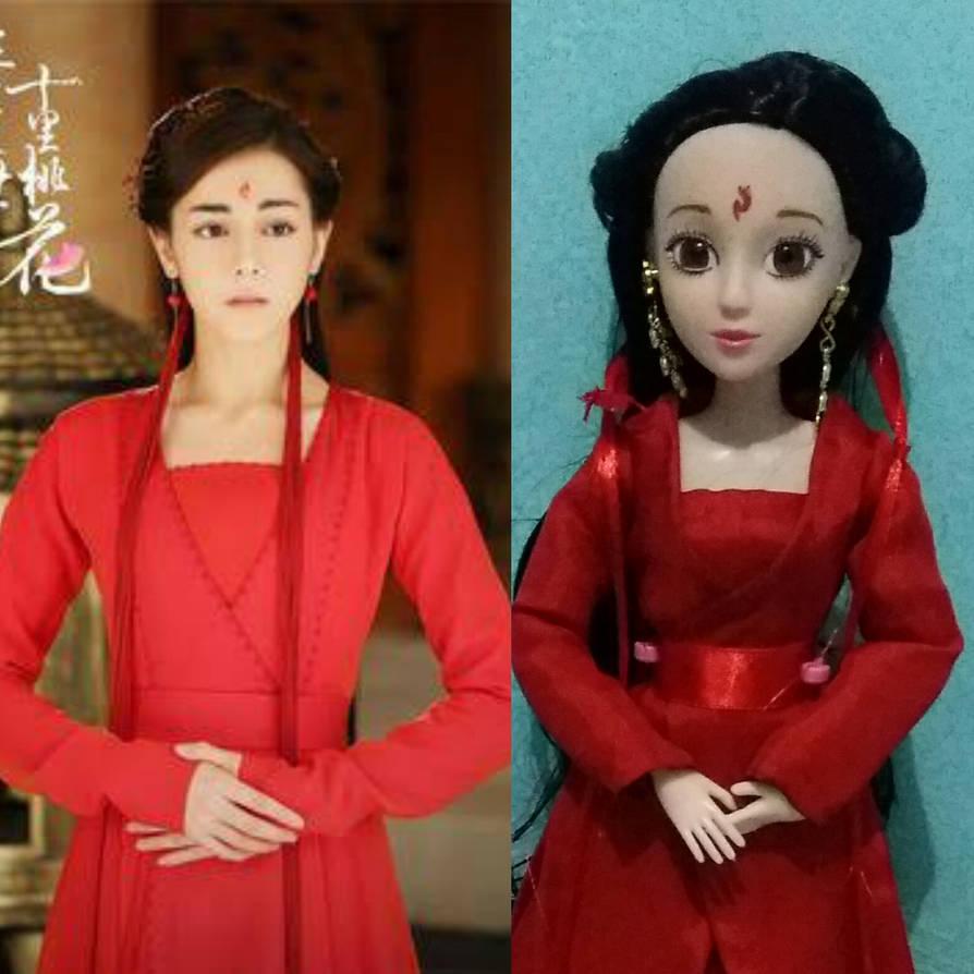 Bai Fengjiu doll part 1 by seawaterwitch