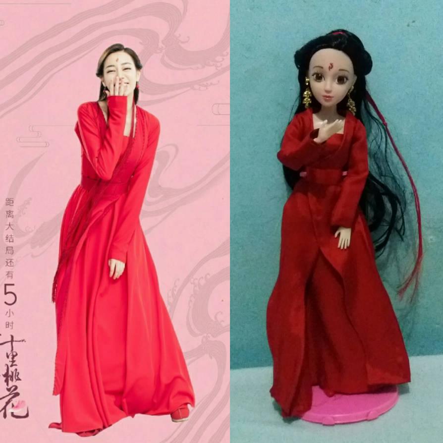 Bai Fengjiu doll part 2 by seawaterwitch